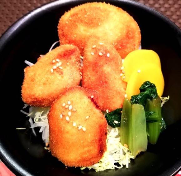 マグロカツ丼