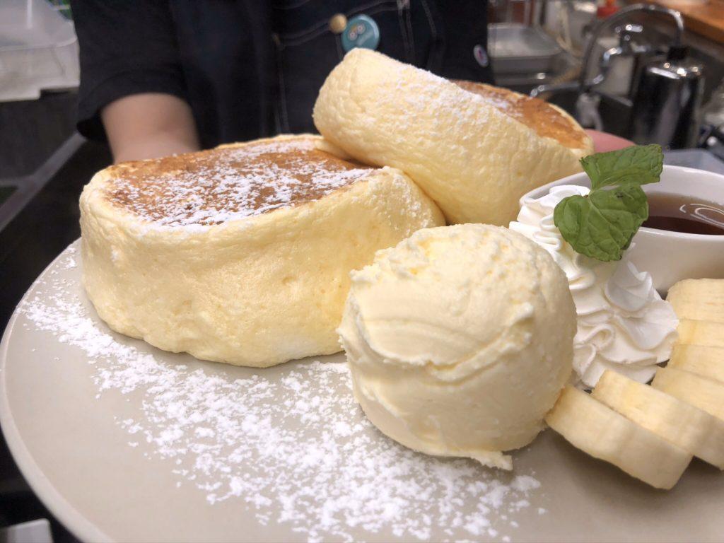 リコッタチーズパンケーキ