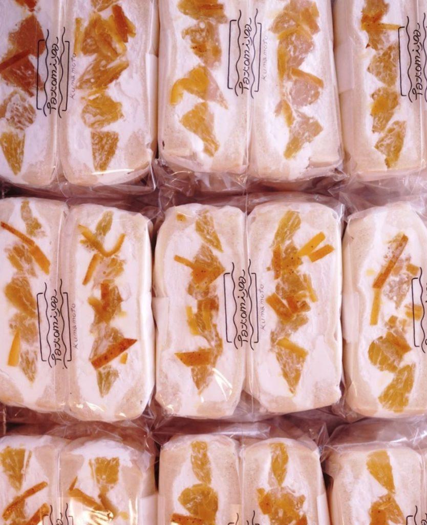 BANKANと自家製ピールのフルーツサンド