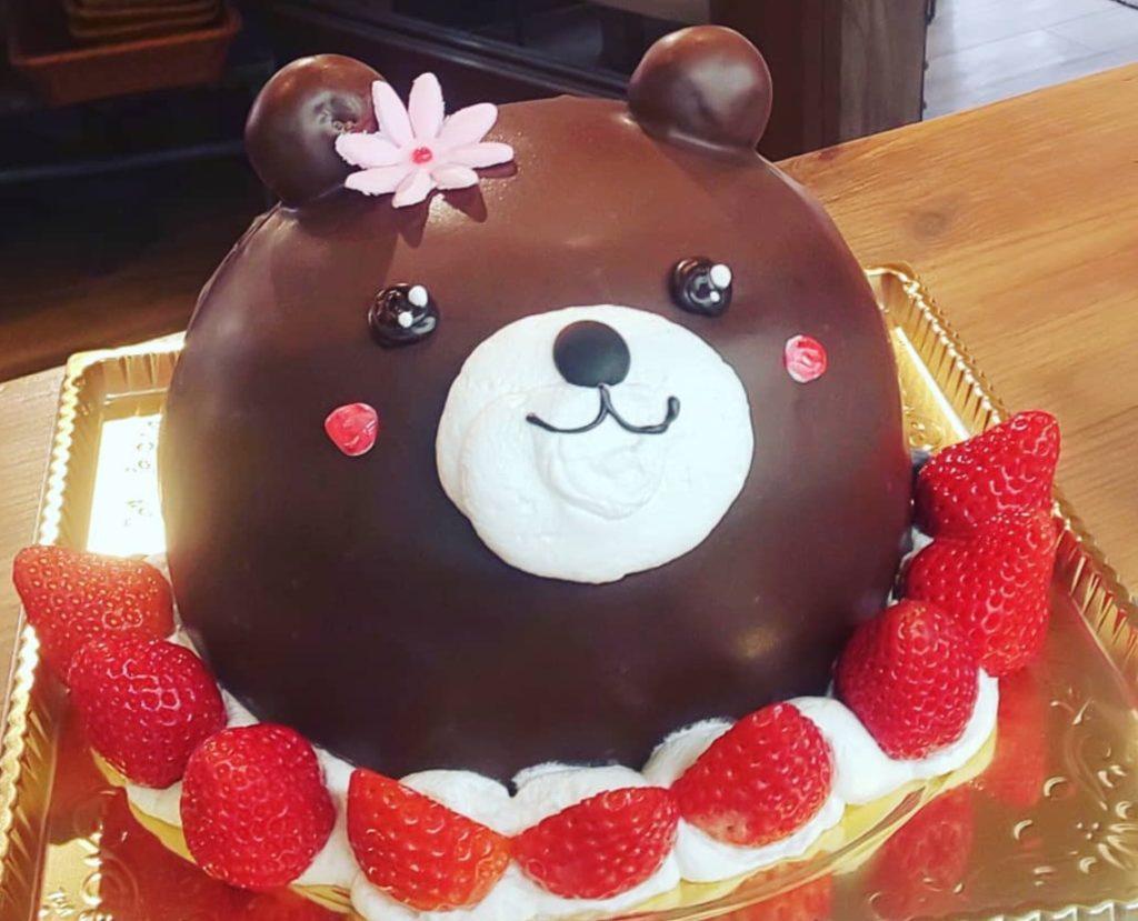 くまさんケーキ