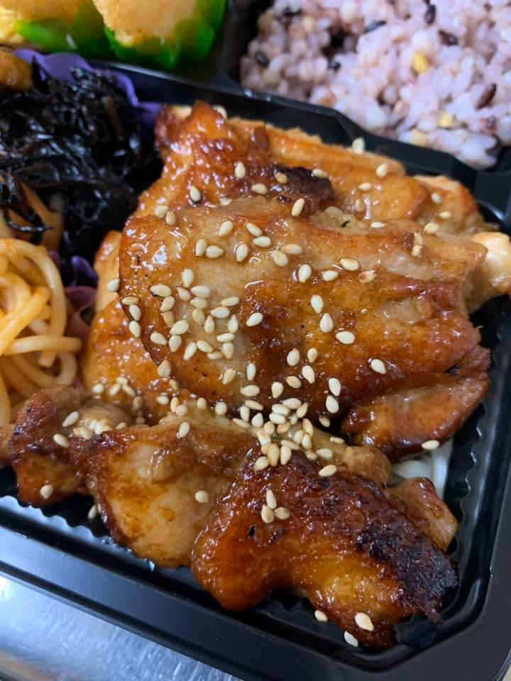 鶏モモ照り焼き