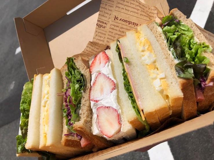 【熊本市東区・南区】cafe'ru のテイクアウト情報!ふわふわのサンドイッチ!期間限定で巨大なピザも!!