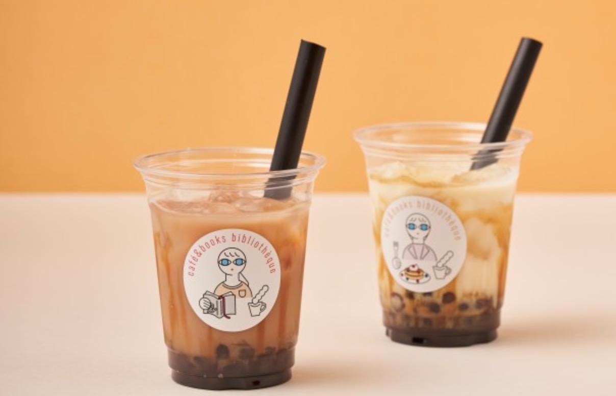 【熊本市中央区】カフェ&ブックス ビブリオテーク 熊本・鶴屋のテイクアウト情報!熊本の濃厚なジャージー牛乳を使ったタピオカミルクティー!