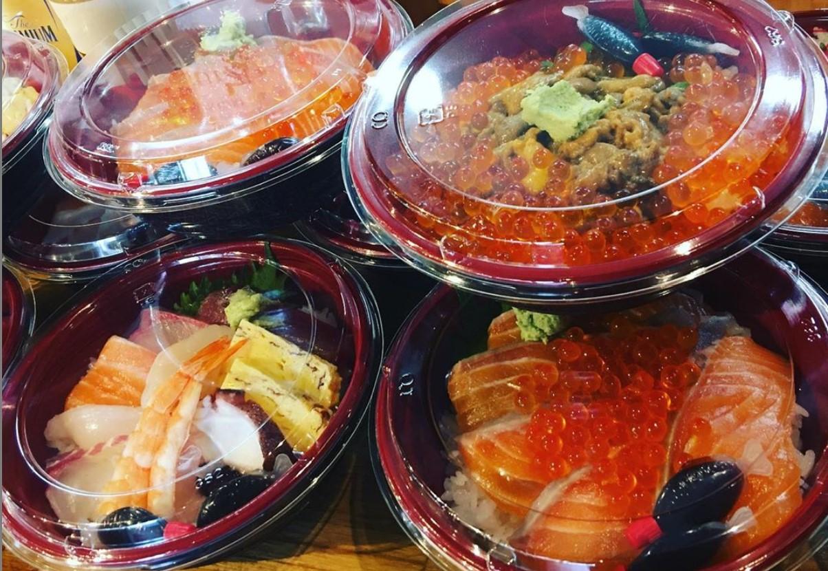【熊本市中央区下通】立ち寿司のテイクアウト情報!贅沢に具沢山の豪華海鮮丼!