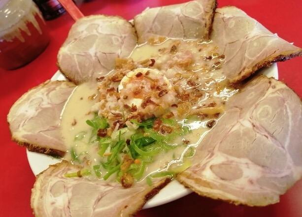 北熊のチャーシュー麺