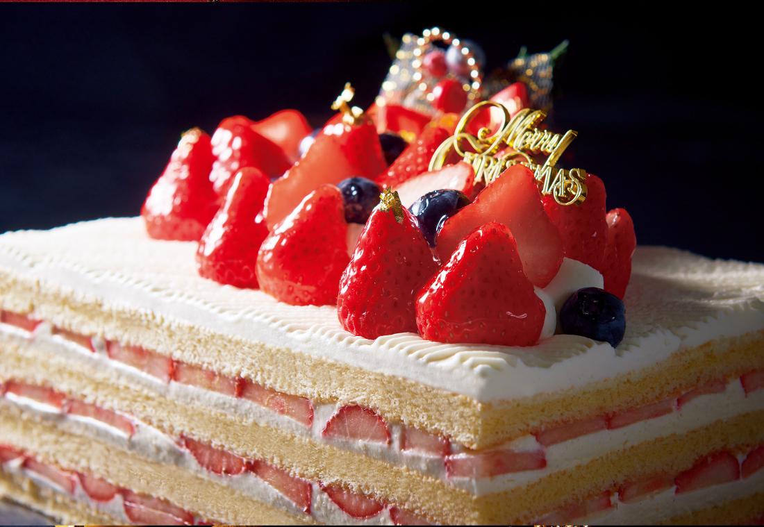 いちごが乗ったケーキ